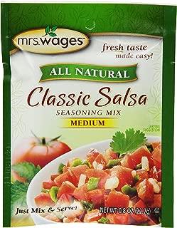 salsa mix packets