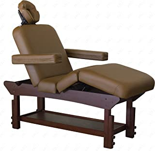 Daytona Massage Table By SKINACT (Light Coffee)