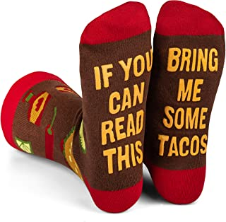 Best If You Can Read This Bring Me Novelty Socks - Funny Dress Socks For Men and Women Reviews