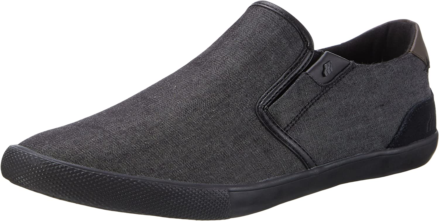 Boxfresh Men's Sanford Sh Cmbry SDE Blk Low-Top Slippers