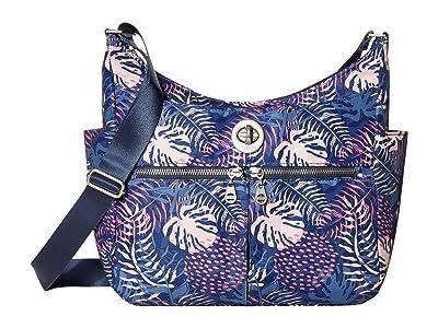 Baggallini International Bristol RFID Crossbody Hobo (Aloha) Handbags