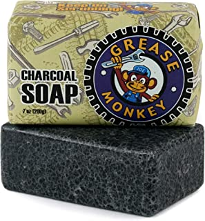 Grease Monkey - Activated Charcoal Soap - Natural - 7 Ounce