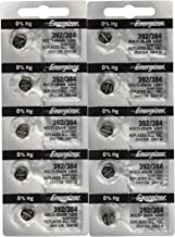 10 Energizer Batteries 392/384 Watch Battery Cell