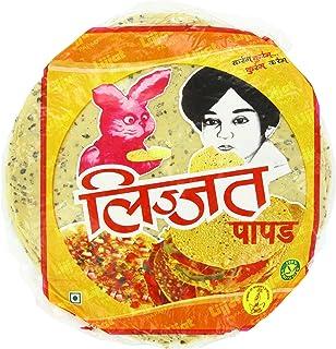 Lijjat Papad, Punjabi Masala, 7.06-Ounce Pack (Pack of 20)