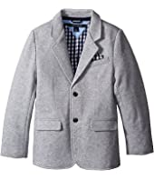Tommy Hilfiger Kids - Knit Blazer with Gingham Lining (Toddler/Little Kids)