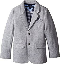 Knit Blazer with Gingham Lining (Toddler/Little Kids)