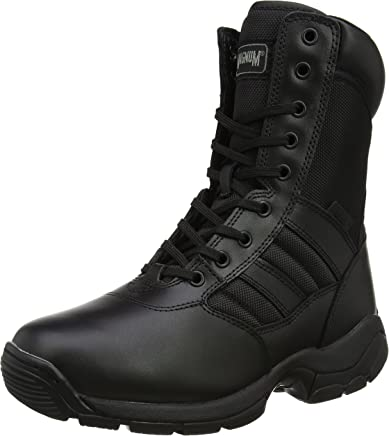 Magnum Panther 8.0 Side-Zip, Unisex Adults� SRA Work Boots, Black (Black 69), 6.5 UK (40 EU)