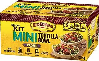 Old El Paso Mini Tortilla Bowl Dinner Kit Flour, 9.3 oz(us)