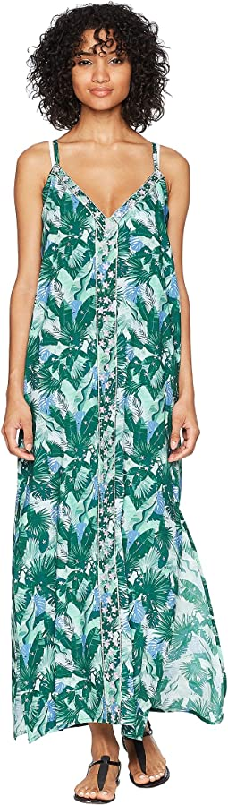 Sleeveless Maxi Dress Cover-Up
