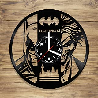 Best batman joker vinyl clock Reviews