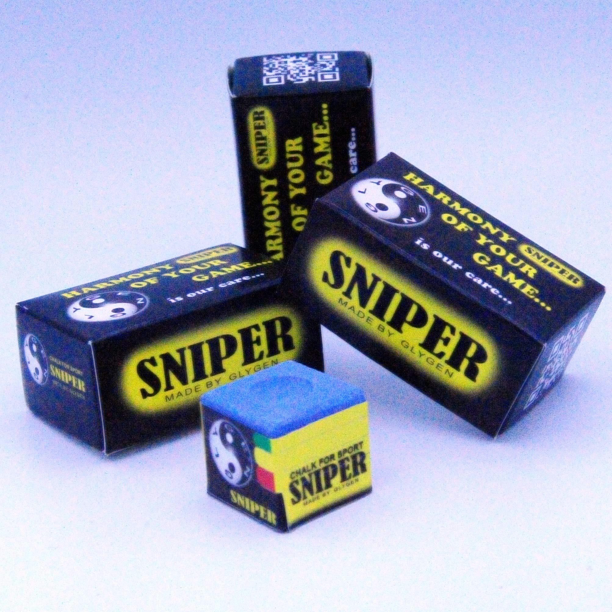 Sniper Chalk – Tiza para palos de billar: Amazon.es: Deportes y aire libre