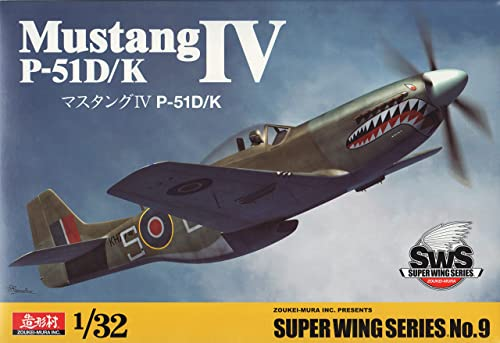 Super Wing Series SWS-9 Modellbausatz P-51D K Mustang IV