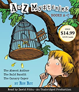 A to Z Mysteries: Books A-C: The Absent Author, The Bald Bandit, The Canary Caper