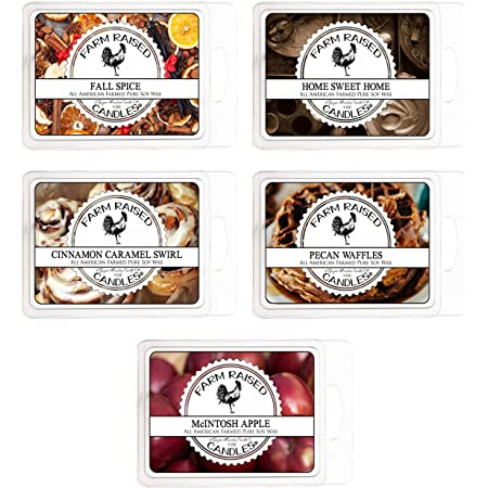 6 Woodsy Tarts Candle Melts Variety Pack Earthy Scents Assortment