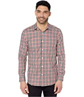 Slim Fit Multicolor Check Resist Spill Shirt