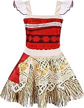 AmzBarley Princess Dress Little Girls Lace Sleeveless Costume Cosplay Outfit