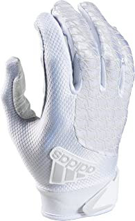 Adidas Boy's Youth adiFAST 2.0 White/White Padded Football Gloves