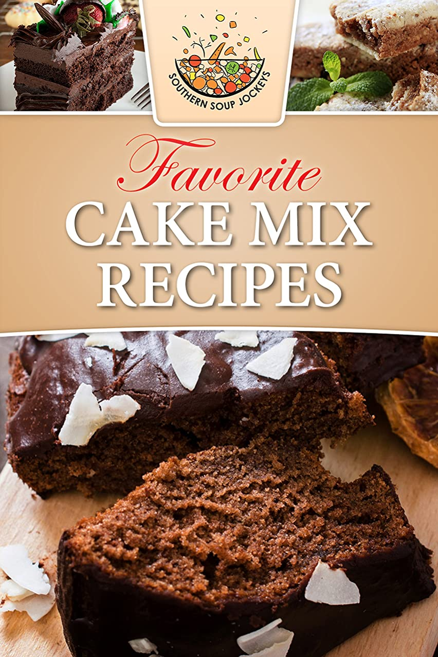 お金ゴム操作可能池Favorite Cake Mix Recipes (English Edition)