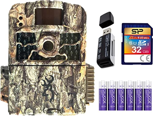 new arrival Browning BTC-5HD-MAX Strike Force HD Max Trail Camera with Night Vision Motion Activated Bundle with online sale Blucoil 6 AA Batteries, 32GB SDHC Memory Card, lowest and USB 2.0 Card Reader outlet sale
