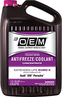 Best Recochem OEM 86-314POEMVW Pink Premium Antifreeze Concentrate Extended Life - Euro II PINK, 1 gallon, 1 Pack Review