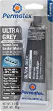 Permatex 82194 Ultra Grey Rigid High-Torque RTV Silicone Gasket Maker, 3.5 oz.