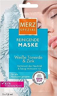 Merz Spezial Reinigende Maske Weiße Tonerde und Zink, 15er Pack 15x 15 ml