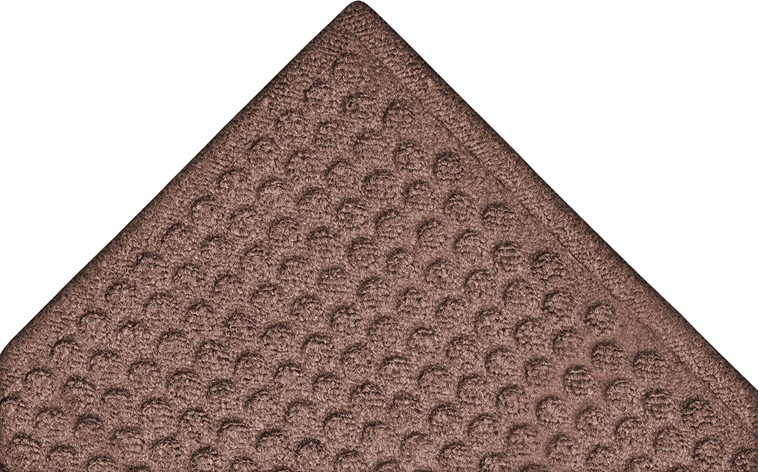 Notrax 150 Aqua Trap Entrance Mat, for Main Entranceways and Heavy Traffic Areas, 3' Width x 4' Length x 3 8  Thickness, Brown