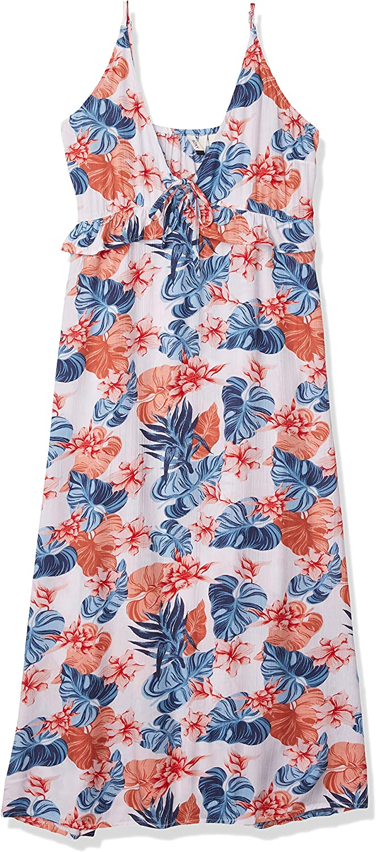 Roxy Women's Close to Sea Midi Woven Dress