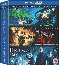 Green Hornet / Priest / Resident Evil - Afterlife Region-Free