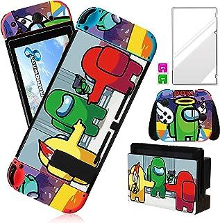 oqpa for Nintendo Switch Skin Cute Kawaii Cartoon Character Among Design Sticker,Fun Funny Fashion Cool Switch Game Skins ...