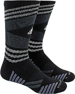 calcetín Speed con inserciones de malla para equipos de fútbol y baloncesto Unisex Adulto