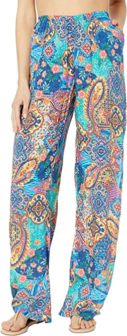 Wapisima Split Side Wide Leg Pant Cover-Up