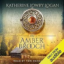 amber brooch