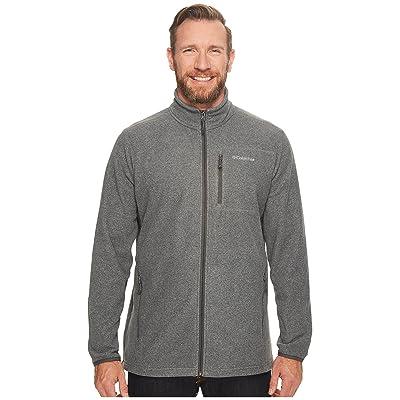 Columbia Big Tall Cascades Explorertm Full Zip Fleece (Charcoal Heather) Men