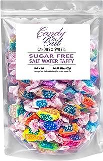 CandyOut Taffy Lite Sugar Free Salt Water Taffy 1 Pound