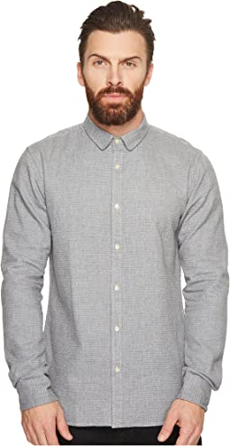 Scotch & Soda - Long Sleeve Shirt in Dobby Patterns