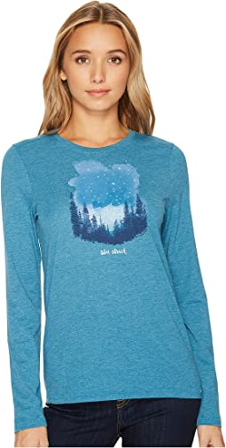 Star Struck Sky Long Sleeve Cool Tee