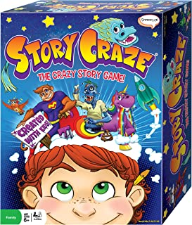 Story Craze Game for Kids - Fun and Educational Family Board Game
