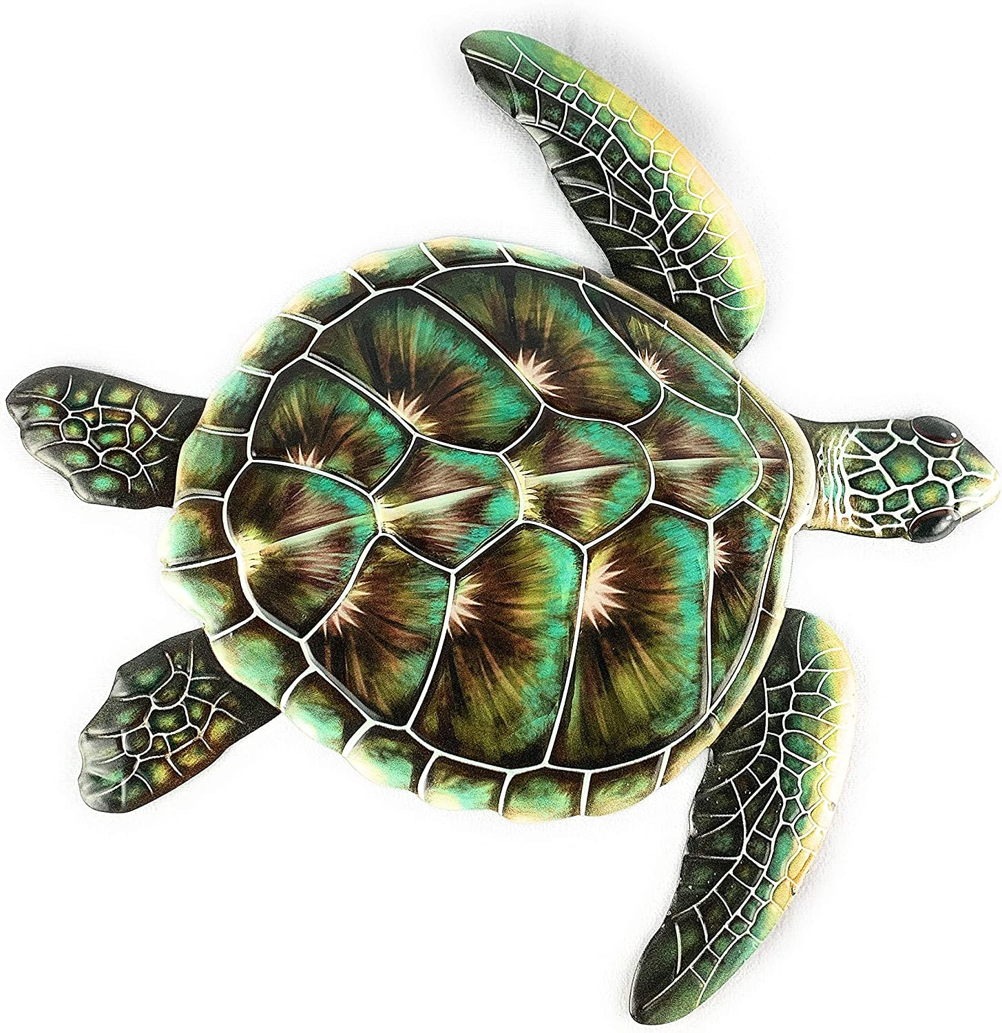 Large Sea Cash special price Turtle Decor Wall OFFer Green