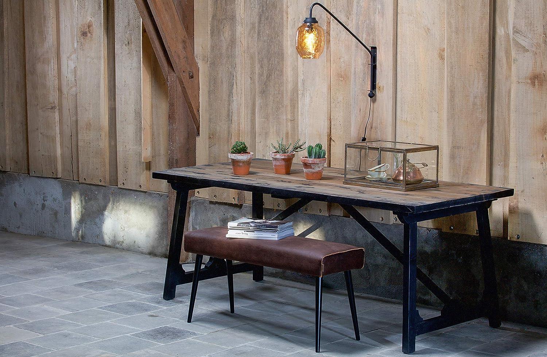 BePureHome Esstisch Massivholz Vintage Craft 10 cm  Amazon.de ...