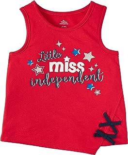 Patriotic Tanks Toddler Girls Tank Tops All American Girl