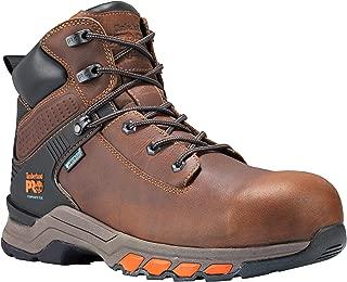 """Timberland PRO Men's Hypercharge 6"""" Composite Toe Waterproof Industrial Boot"""