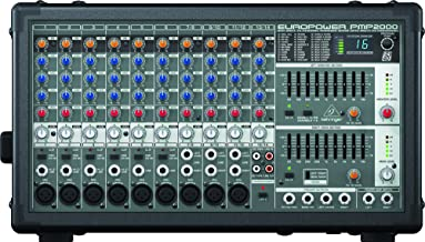 Behringer PMP2000 Behringer Europower 800-Watt 10-Channel Powered Mixer With Multi-Fx Processor