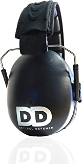 Professional Safety Ear Muffs by Decibel Defense – 37dB NRR – The HIGHEST..