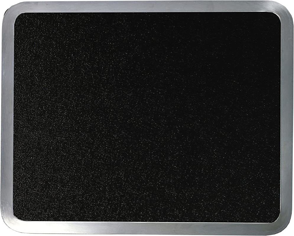 Vance Surface Saver 71620BK 16 X 20 Black Built In Surface Saver Tempered Glass Cutting Board Black