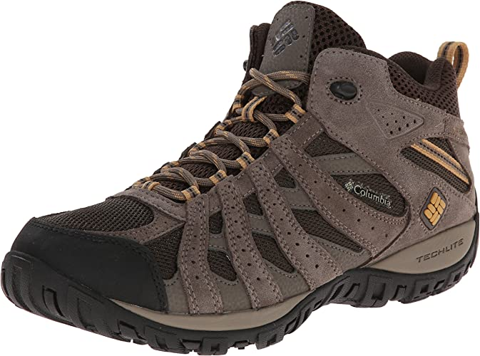 Columbia Hommes's rougemond Mid imperméable grand Hiking démarrage
