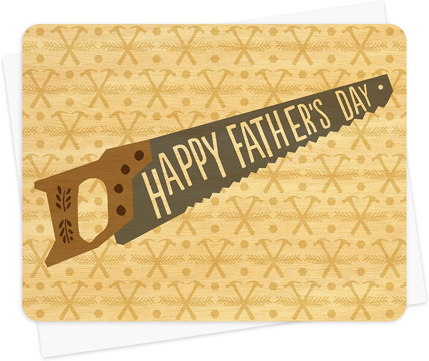 Year-end annual Credence account Tool Time Wood Father's Day Card Paper Goods Night Owl by