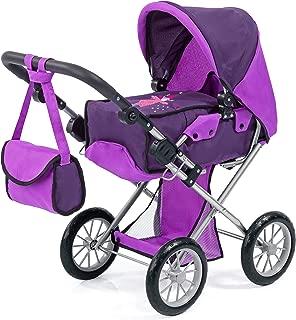Bayer Design 13612AA City Star Doll's Pram, Purple