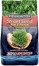 Pennington 100526671 Smart Seed Sun and Shade Grass Seed, 7 LBS