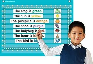 Teacher Created Resources Light Blue Marquee Mini Pocket Chart (17